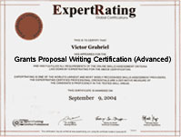 certificate in grant writing Grant writing certificate program grant writing certificate program march 6 to 9 he has taught grant-writing skills for the state governments of connecticut.