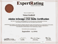 ExpertRating Adobe Course - $129.99 - Adobe InDesign CS3 Training