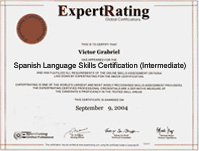 Online spanish course 12999 spanish certification some popular questions and answers about this expertrating online spanish courseii and certification yadclub Gallery