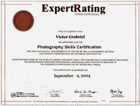 Digital Camera Photography Certification