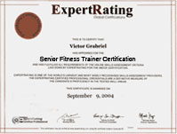 Senior Fitness Certification - $69.99 - Online Fitness Training Course