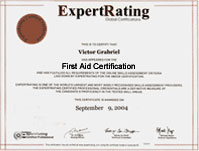 First aid certification 2999 online first aid courseware some popular questions and answers about the expertrating first aid certification yadclub Gallery