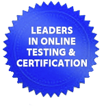 Leaders in Online Testing & Certification