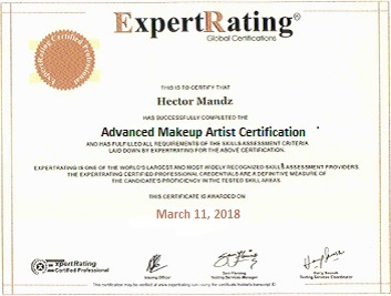 ExpertRating Advanced Makeup Artist Certification - $300