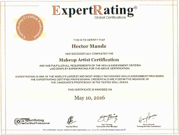 Expertrating Makeup Artist Certification 9999 Makeup Artist