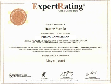 expertrating pilates certification 69 99 pilates course